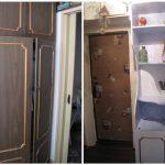 Скучный шкаф можно легко оживить новыми красками
