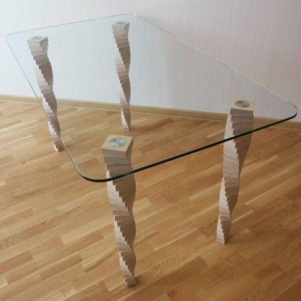 Столешница — закаленное стекло