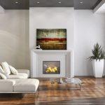 белая мебель в изысканном интерьере