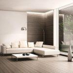 белая мебель с бежевым интерьером