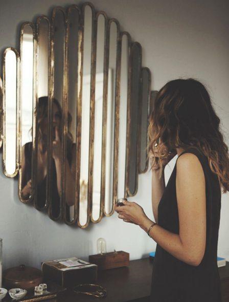 зеркало из частей