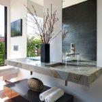 зеркало в ванной интерьер