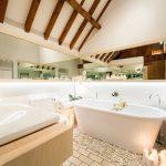 зеркало в ванной в интерьере