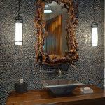 зеркало в ванную в раме