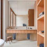 зеркало в ванную дизайн интерьера