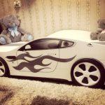 бельмарко кровать машина белая