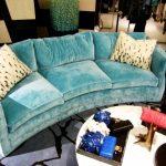 бирюзовый диван светлый