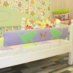 детская кровать с бортиками мягкими