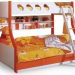 детская двухъярусная кровать от 3 лет