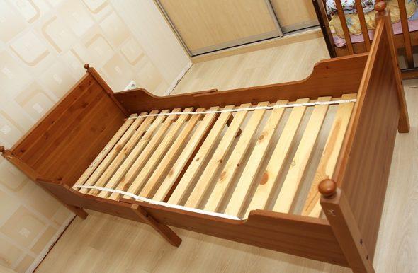 кровать икеа лесквик