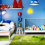 детская кровать икеа в спальне