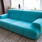 диван бирюзовый современный дизайн
