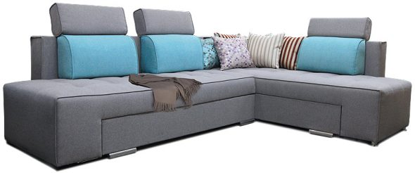 диван с поворотным механизмом