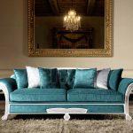 бирюзовый диван доминго
