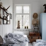 светлая спальня небольшая