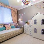 две дочки – обустройство комнаты