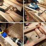 этапы изготовления стульчика