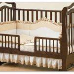 кровать детская маятник