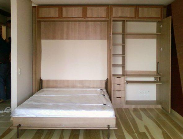 кровать шкаф трансформер