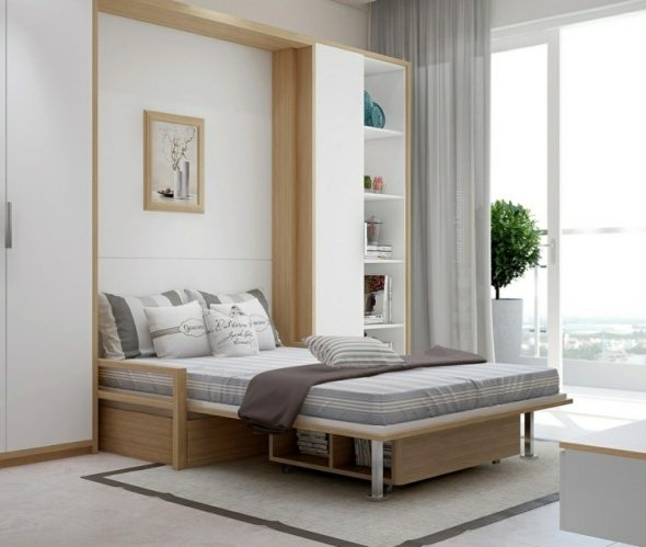 кровать трансформер минимализм