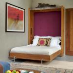кровать трансформер в спальне