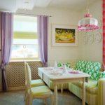 кухня с диваном дизайн