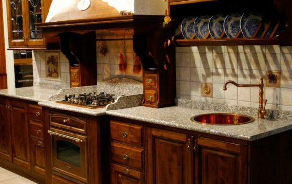 кухонная столешница камень