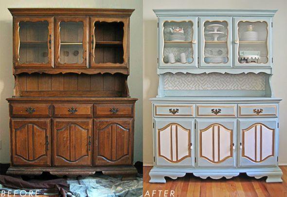 отреставрированной шкаф