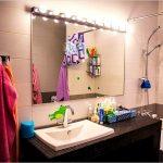 зеркало с подсветкой для ванной