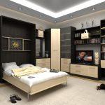 двуспальная кровать подъемная