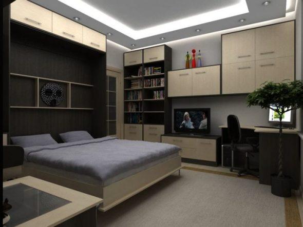 подъемная кровать вертикальная