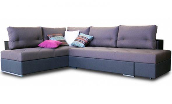 поворотно угловой диван