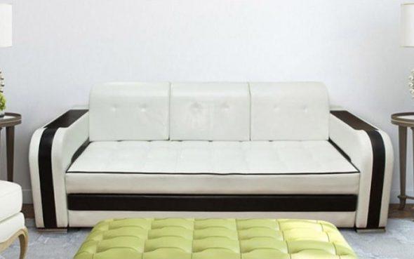 прямой диван с механизмом дельфин