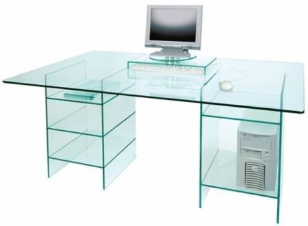 сделать большой стеклянный стол