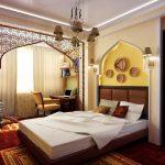 двуспальная кровать арабский стиль