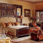 двуспальная кровать ампир
