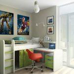стол письменный кровать