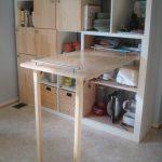 выдвижной стол дерево