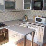 выдвижной стол кухонный
