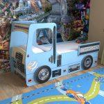 детская кровать с бортиками автомобиль