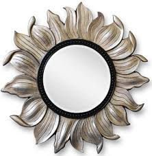 зеркало чёрный-серебро