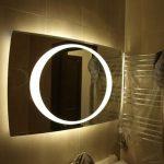 подсветка зеркала круглая
