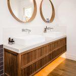 зеркало в ванной круглые
