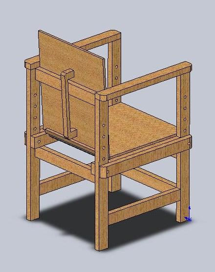Чертежи детской мебели