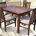 Деревянный раскладной стол Гаити