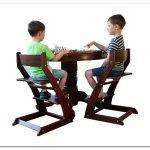 Деревянный стул для ребенка