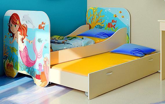 Детская кровать Русалочка