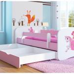 Детская кровать с пенополиуретановым матрасом и ящиком для белья в комплекте