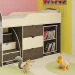 Детские кровати Орбита14- маленький детский чудо-уголок