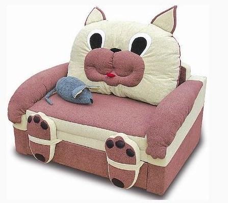Детское кресло-кровать Кошка